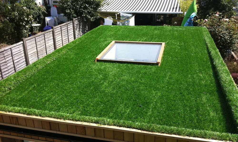Artificial Grass Projects Rooftops A Bit Of Green